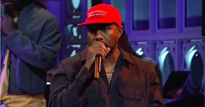 After SNL Performance Kanye West Calls For Legalizing Slavery Again
