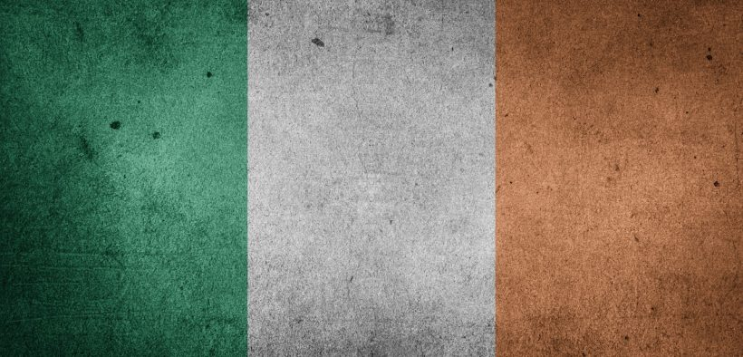 Image of the Irish flag, Ireland just lifted the abortion ban and announced abortion services will be free.