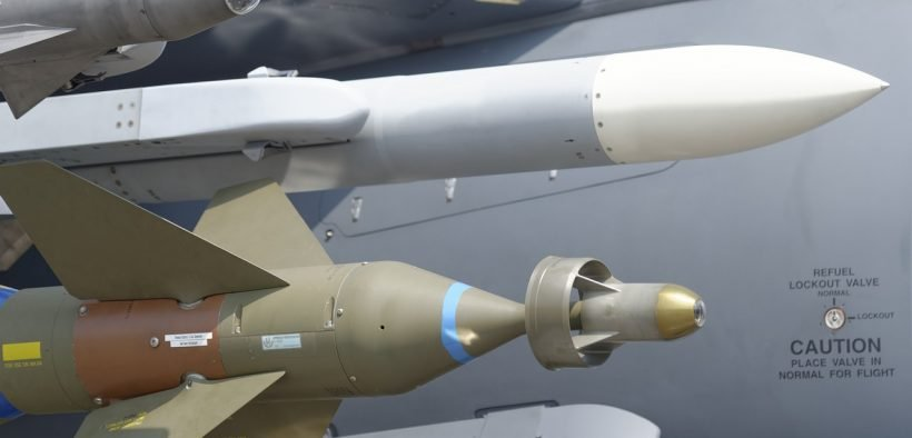 photo of US air force missiles