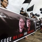 Two Myanmarese Reuters Journalists Sentenced for Seven Years