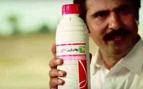 Screen shot from a promotional video for the pesticide Polo made by Syngenta