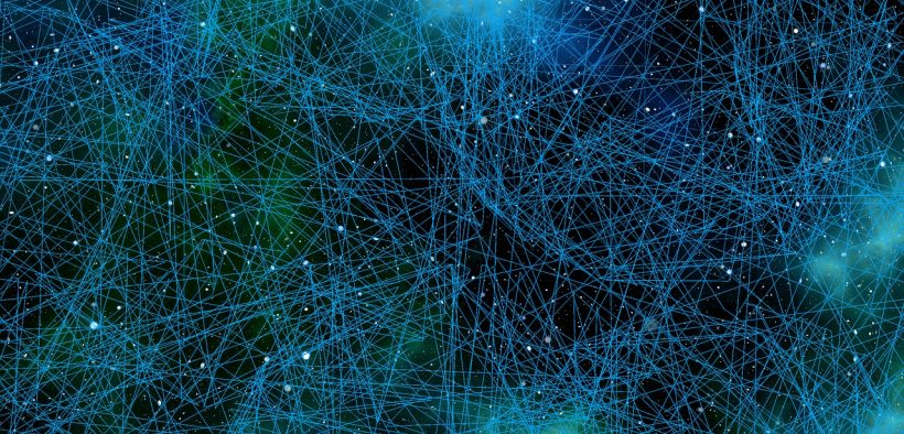 graphic of interconnected neurons