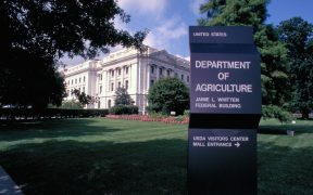 photo of the Department of Agriculture building in Washington DC