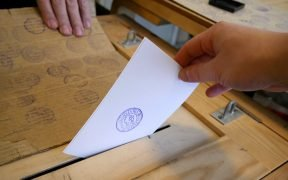 A paper ballot from the 2018 Finland presidential election. Election meddling is a widespread tactic.
