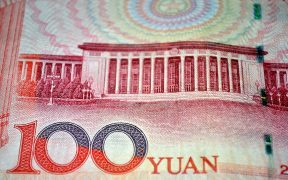 photo of a 100 Yuan note