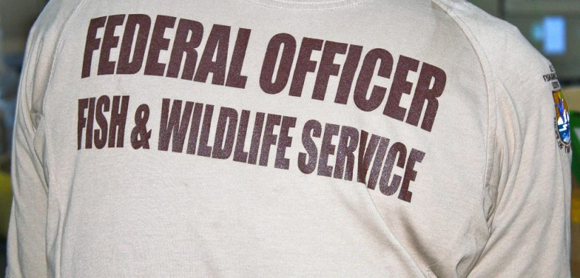 photo of U.S. Fish and Wildlife Services Officer