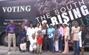 Black Voters Matter bus