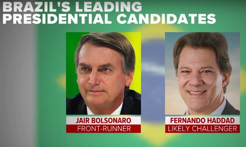 'Brazilian Trump' Easily Wins First Round Of Divisive Presidential Election