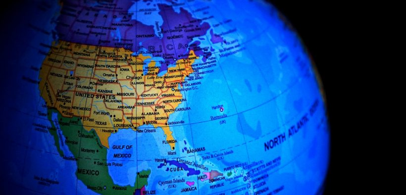 North America on a globe. The USMCA will replace NAFTA