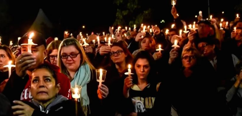 Thousands of friends and family members turned out for a candle light vigil Monday in Amsterdam, New York, to honor the 20 victims killed in the tragic limousine crash.