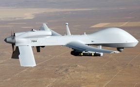 The MQ-1C Gray Eagle is the Army's largest unmanned aircraft system. (U.S. Army photo)
