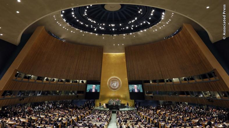 6 Key Moments From High Drama United Nations Debate