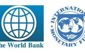 Logos of the World Bank and IMF