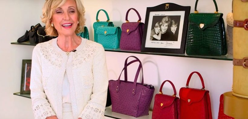 Lana Marks promoting her handbags on Heritage Auctions