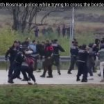 Reports of Police Abuse in Unsanitary and Overflowing Refugee Camps in Balkans