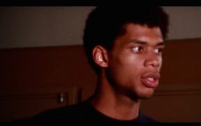 "Kareem Abdul-Jabbar in der neuen DocuSeries ""Shut up and Dribble"""