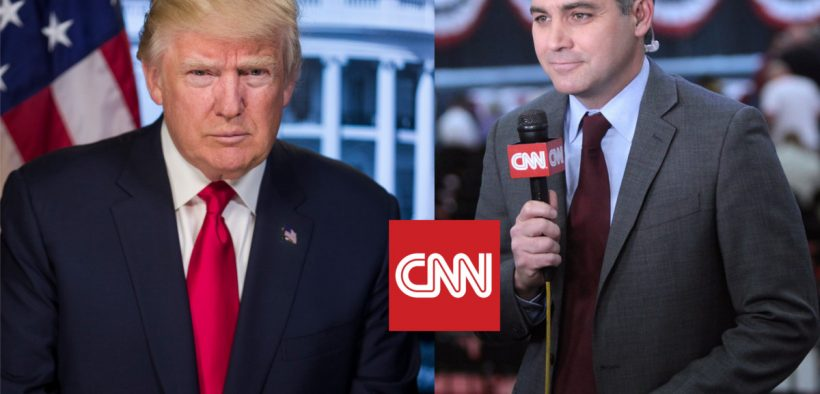 Trump and CNN square off in a CNN lawsuit over CNN reporter Jim Acosta's access to press events