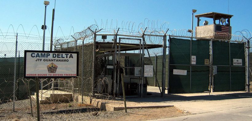 The entrance to Camp 1 in Guantanamo Bay's Camp Delta. The base's detention camps are numbered based on the order in which they were built, not their order of precedence or level of security. Photo by Kathleen T. Rhem