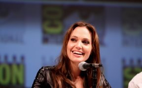 Actress Angelina Jolie at the Salt panel on the 2010 San Diego Comic Con in San Diego, California.