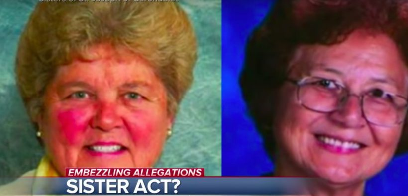 Sister Mary Margaret Kreuper and Sister Lana Chang of the Sisters of St. Joseph of Carondelet embezzledat least $500,000 in school funds