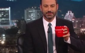 Jimmy Kimmel ao vivo no set