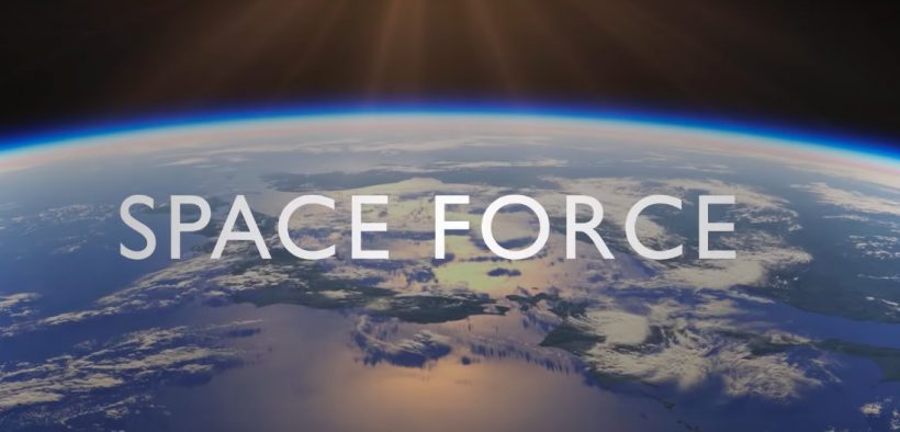 Screenshot aus einem Trailer zur neuen Netflix-Serie 'Space Force'