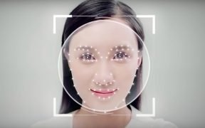 Facial recognition technology. (Image via YouTube)