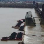 Six Barges Sink, Spill Coal in Ohio River After Hitting Kentucky Bridge