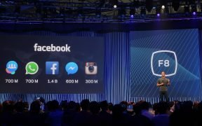 Users numbers updated for Facebook, Instagram, WhatsApp, Messenger, and Groups at F8 2015
