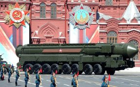Military parade on Red Square 2016-05-09