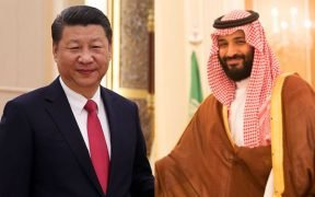 Saudi crown prince Mohammad bin Salman ended his Asia tour with a stop in China and President Xi. (Photos via public domain)