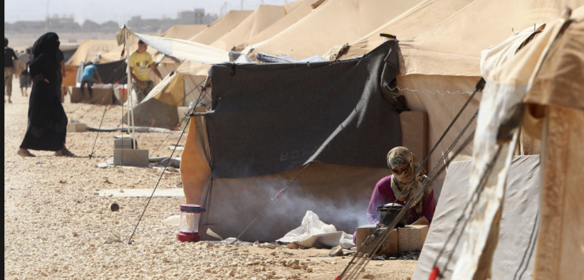 Syrian refugee camp - courtesy if the Journalist Support committee