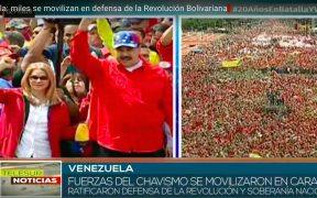 The commemorative events of the 27th anniversary of the Civic-Military Rebellion and 20 of the arrival of the commander Hugo Chávez to the presidency of Venezuela, and with it the beginning of the Bolivarian Revolution.