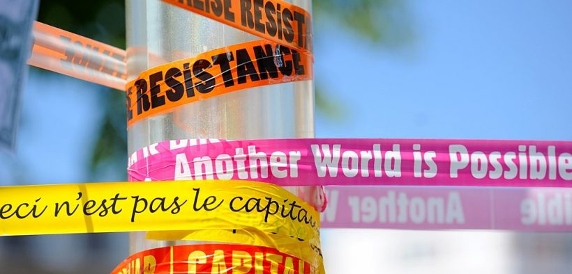 Anti-G8 demonstration in Le Havre, France, the week-end before the G8 summit in Deauville. (photo by Guillaume Paumier)