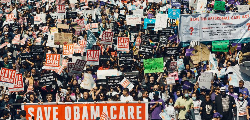 Rally to Save the ACA 3/23/17 Los Angeles. (Photo by Molly Adams)