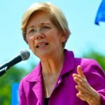 Rally for Elizabeth Warren June 21, 2017. (Photo by Edward Kimmel)