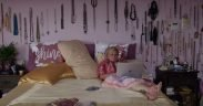 Roseanne Barr in her bedroom from a mini report by Vice News