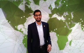 Sundar Pichai, CEO, Google (Photo by Maurizio Pesce from Milan, Italy)