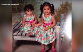 Delaney Tercero (right), 3, died at the University Medical Center in Lubbock, Texas after a pipeline explosion in her home. (screenshot via YouTube)