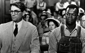 Screenshot of the classic film To Kill A Mockingbird via Wikimedia Commons