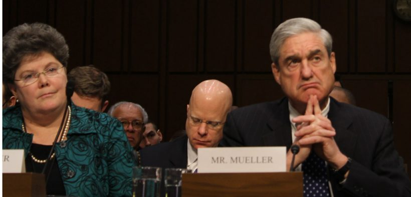 """FBI Director Robert Mueller said cyber security will be the number one future threat in the country, but for the time being, """"counterterrorism and stopping terrorist attacks"""" is more important. Kit Fox/Medill"""