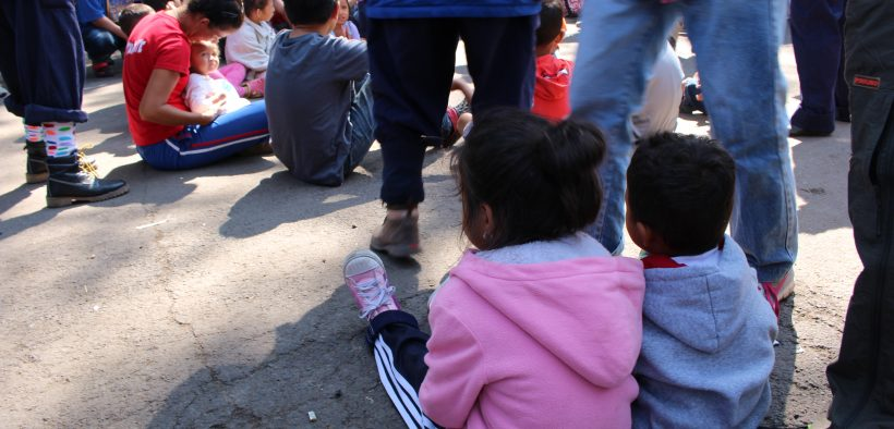 Many migrants requesting asylum in 2019 have traveled to the border with children. Photo by Jenna Mulligan