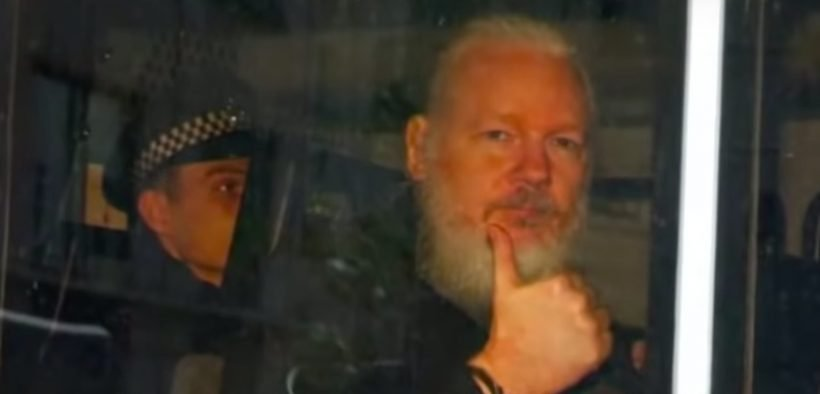 Julian Assange (YouTube screenshot)