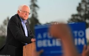 Bernie Sanders, Rally Vallejo CA no 8 May 2016. (foto de Shelly Prevost de São Francisco, Estados Unidos)