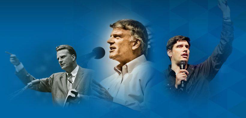 Billy Graham, son Franklin Graham and grandson Will Graham. (Photo: Billy Graham Evangelistic Association Facebook)