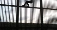 Border Wall, Brownsville, Texas, Immigrant, Crossing. July 2009 (Foto: Nofx221984, Public domain)