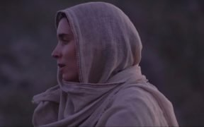 screenshot of Rooney Mara as Mary Magdalene