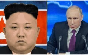 Kim Jong-Un and Vladamir Putin are meeting after North Korea's disappointment with the US grows. (Photos via Pixabay)