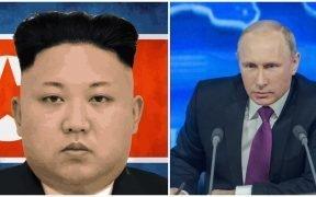 Kim Jong-Un e Vladamir Putin estão se reunindo após o desapontamento da Coréia do Norte com o crescimento dos EUA. (Fotos via Pixabay)