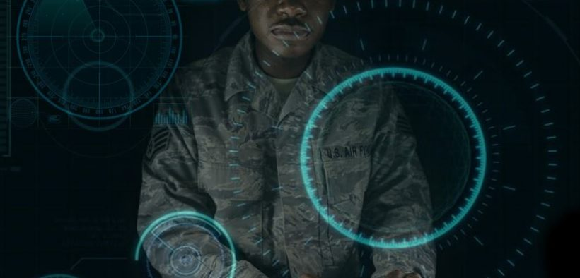 Exploitation analyst airmen assigned to the 41st Intelligence Squadron have begun using advanced mobile desktop training that uses an environment to challenge each individual analyst in cyberspace maneuvers to achieve mission objectives at Fort Meade, Md. Air Force Illustration by Staff Sgt. Alexandre Montes